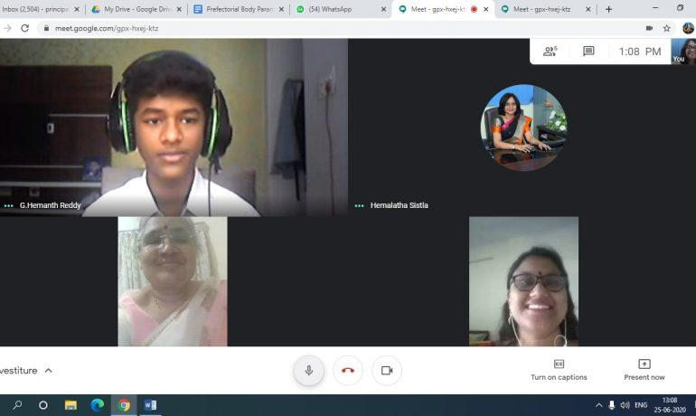 Student Election Interviews, 25th & 26th June 2020