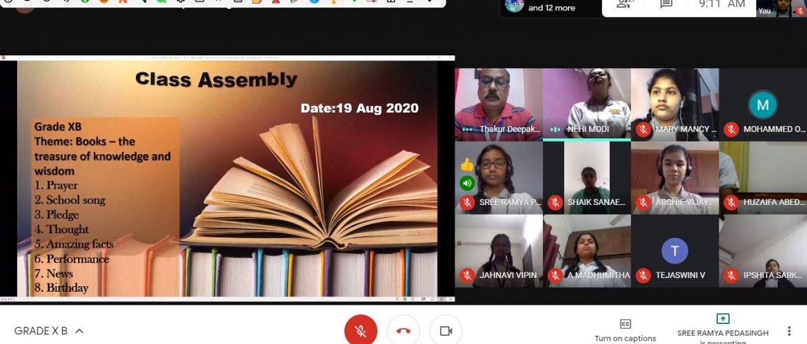 Assembly On Books