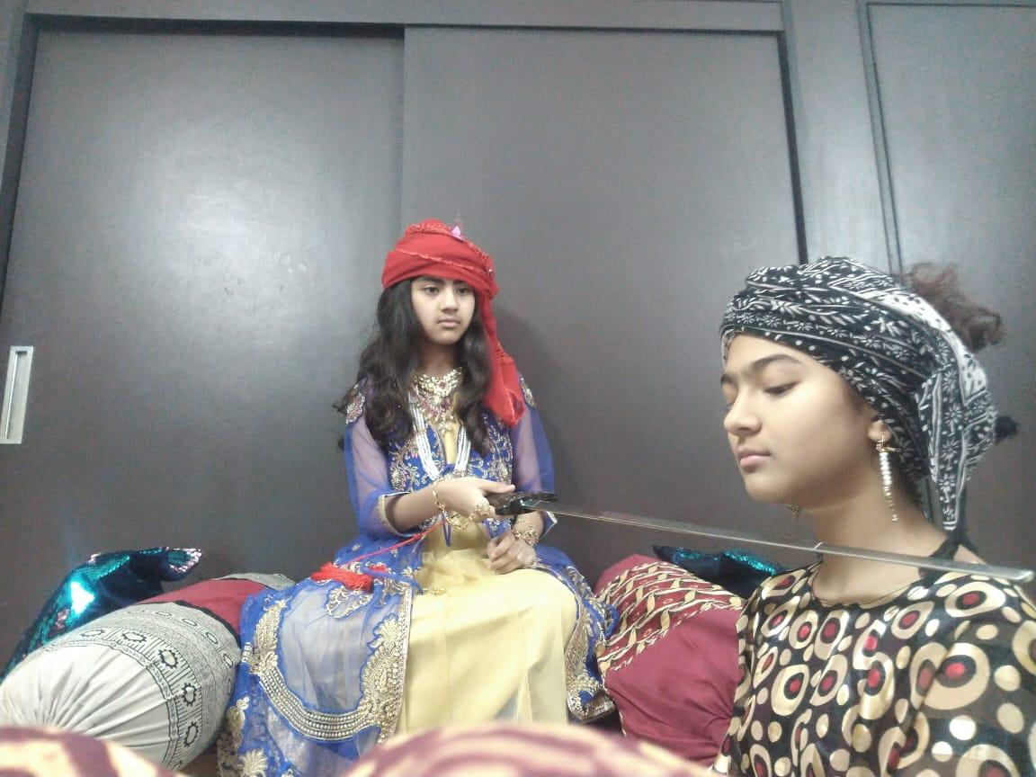 'Reel Life Students!' Learning History through play acting!
